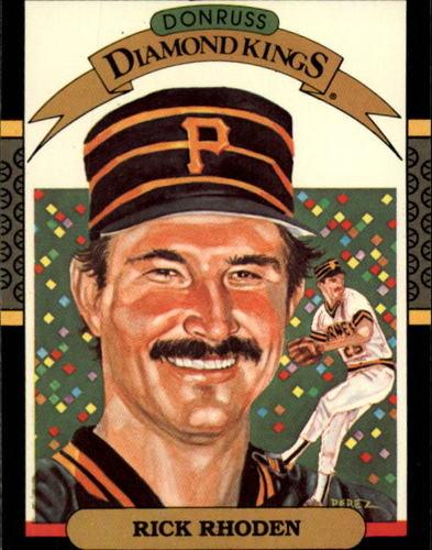 Photo of 1987 Donruss #10 Rick Rhoden DK