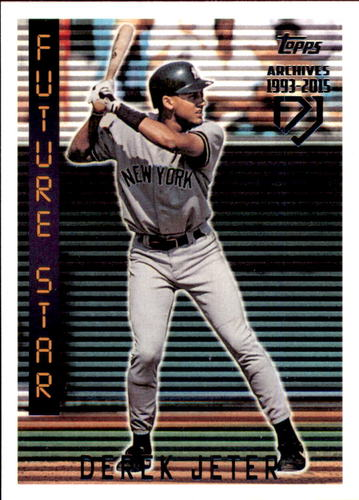 Photo of 2017 Topps Archives Derek Jeter Retrospective #DJ3 Derek Jeter/'95 Topps REPRINT