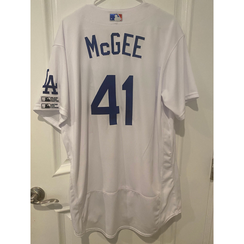 Jake McGee Game Used BLM 2020 Opening Day Jersey