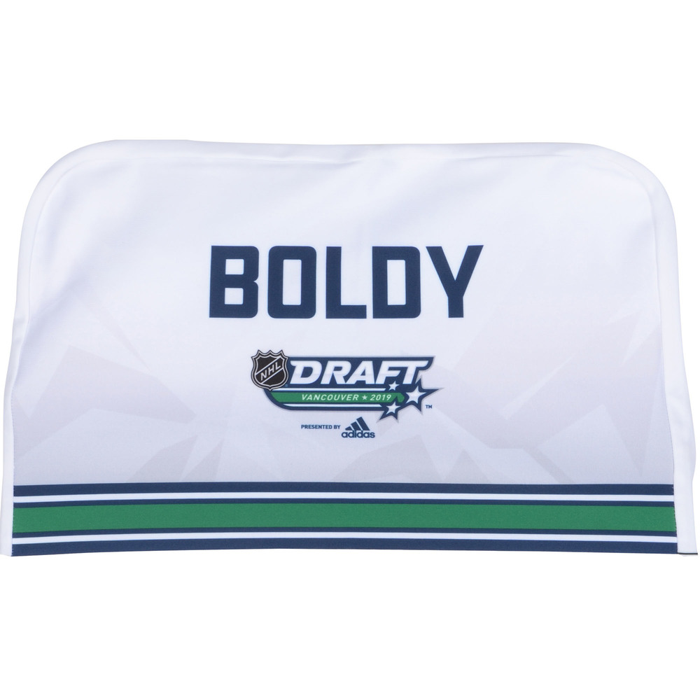 Matthew Boldy Minnesota Wild 2019 NHL Draft Seat Cover - Second set (Not Used)