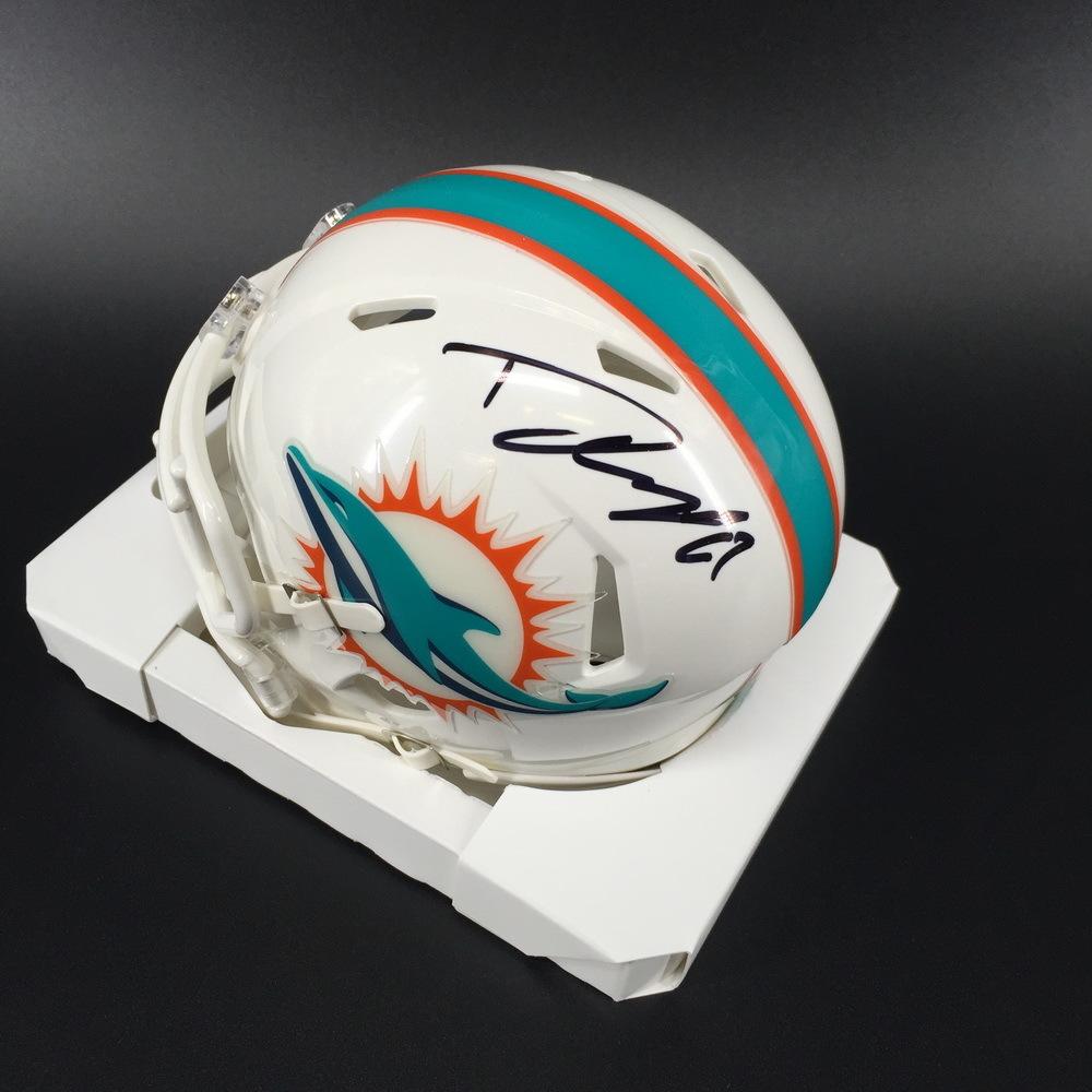 Dolphins - Daniel Kilgore Signed Mini Helmet