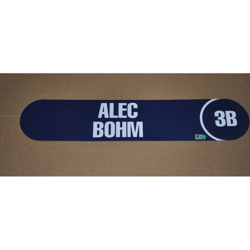 Photo of 2018 MLB Draft Nameplate - Alec Bohm