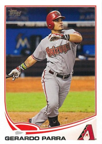 Photo of 2013 Topps #72 Gerardo Parra