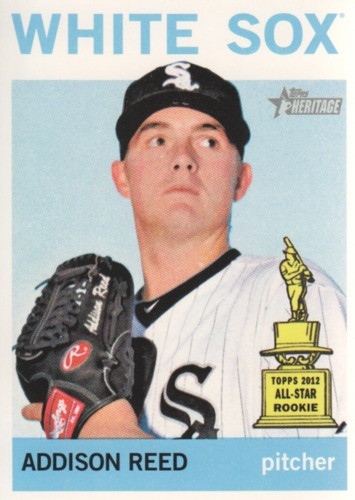 Photo of 2013 Topps Heritage #168 Addison Reed