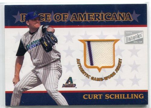 Photo of 2003 Bazooka Piece of Americana Relics #CS Curt Schilling D