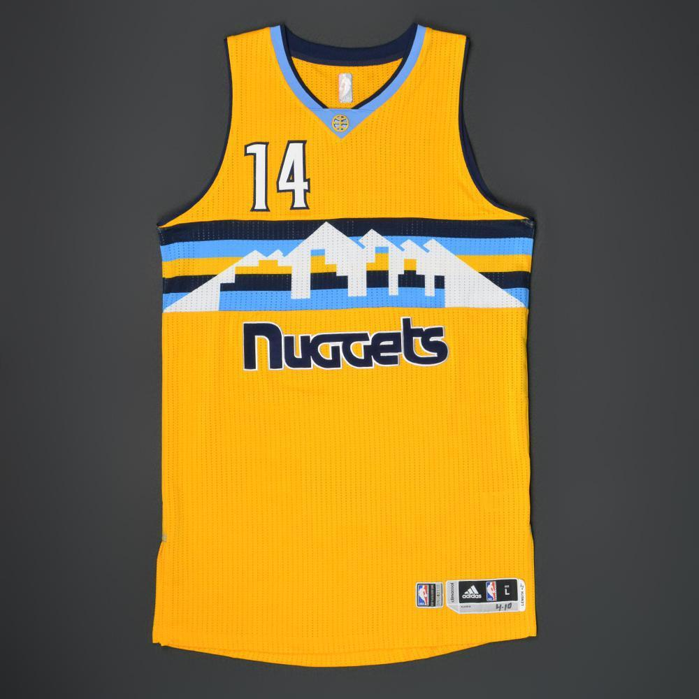 new style 6a343 f880b Gary Harris - Denver Nuggets - Game-Worn Alternate Jersey ...