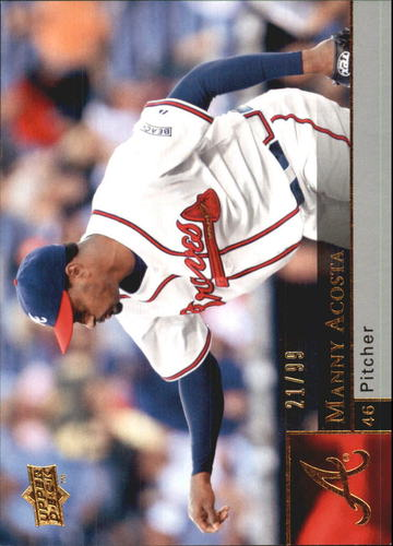 Photo of 2009 Upper Deck Gold #527 Manny Acosta /99