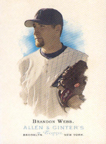 Photo of 2006 Topps Allen and Ginter #21 Brandon Webb