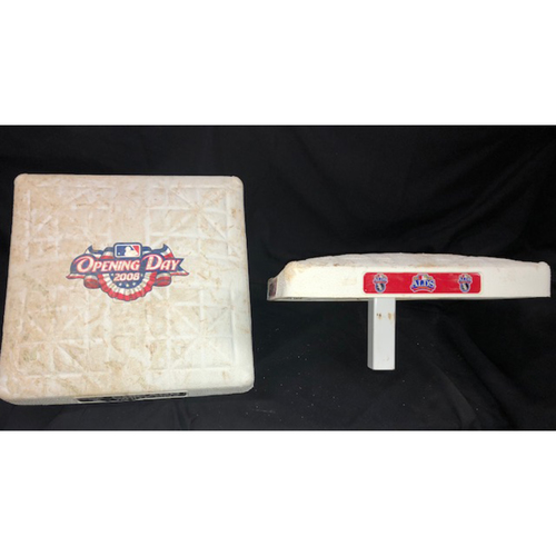 Photo of Commemorate 2008: Game-Used Bases from Opening Day and ALDS Game 3