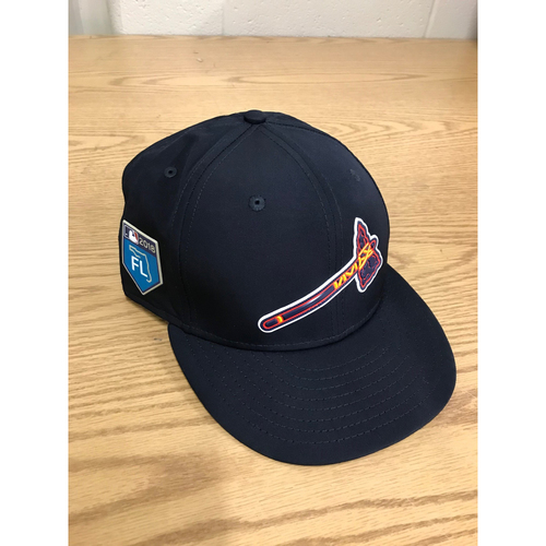 4684e542c4149c Bobby Cox Game-Used Spring Training Cap - Braves Future Stars Manager 3/27