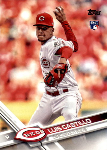Photo of 2017 Topps Update #US139 Luis Castillo RC