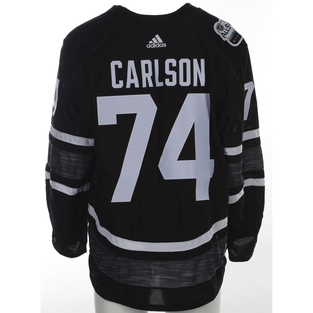 John Carlson Washington Capitals Game-Used 2019 All-Star Game Jersey
