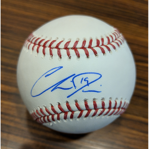 Photo of Chris Davis - Autographed Baseball