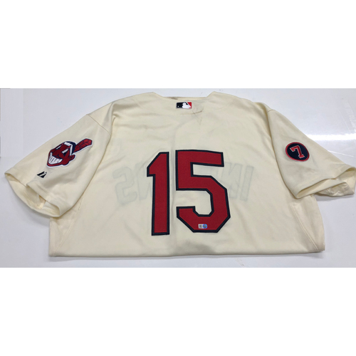 Photo of Sandy Alomar Jr. 2015 Alternate Home Jersey.