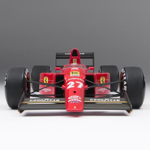 Photo of Ferrari 1989 1:8 Scale Model F1 Car, British Grand Prix