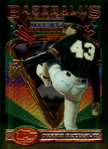 Photo of 1993 Finest #100 Dennis Eckersley AS