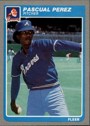 Photo of 1985 Fleer #337 Pascual Perez