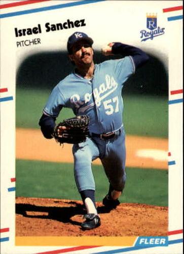 Photo of 1988 Fleer Update #34 Israel Sanchez