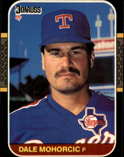 Photo of 1987 Donruss #531 Dale Mohorcic