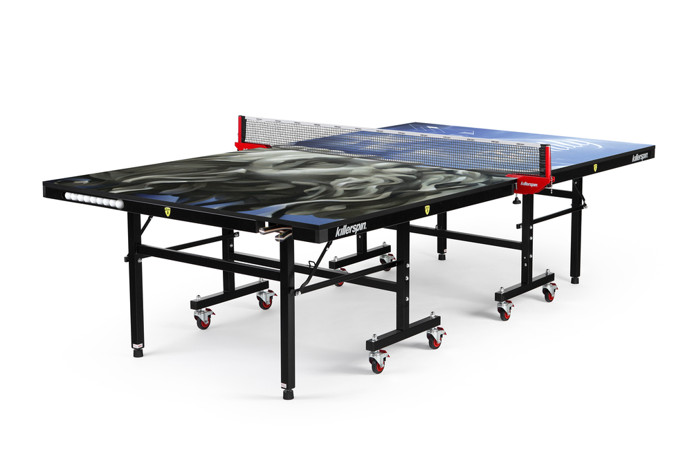Custom Painted Ping Pong Table Inspired by Mitch Marner and Painted by Alexander Bacon - Featured on Unveiled