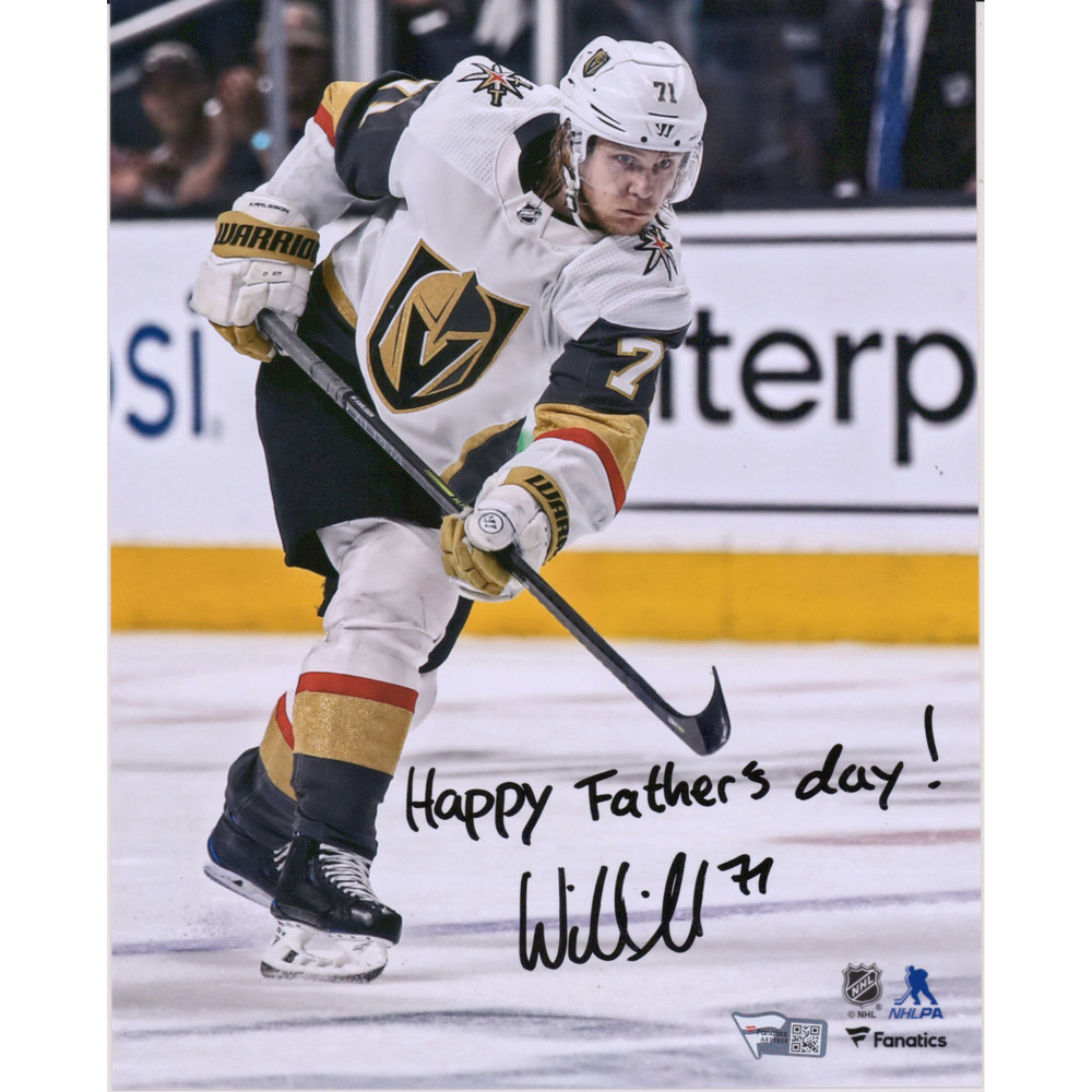 William Karlsson Vegas Golden Knights Autographed 8