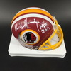 HOF - Redskins Chris Hanburger Signed Mini Helmet