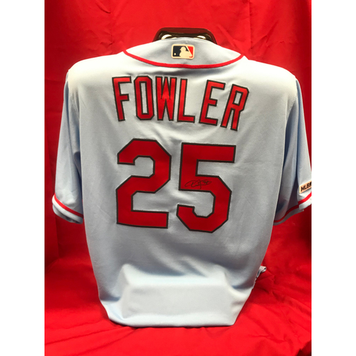 Photo of Dexter Fowler Autographed Team Issued Road Alternate Jersey (Size 46)