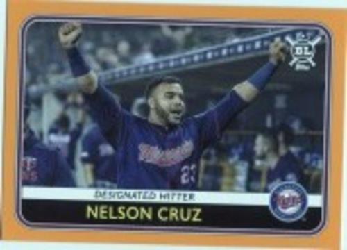 Photo of 2020 Topps Big League Orange #4 Nelson Cruz