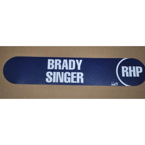 Photo of 2018 MLB Draft Nameplate - Brady Singer