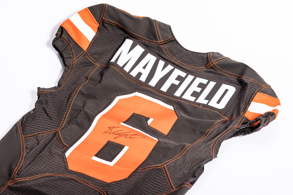 Browns - Baker Mayfield Autographed Authentic Jersey