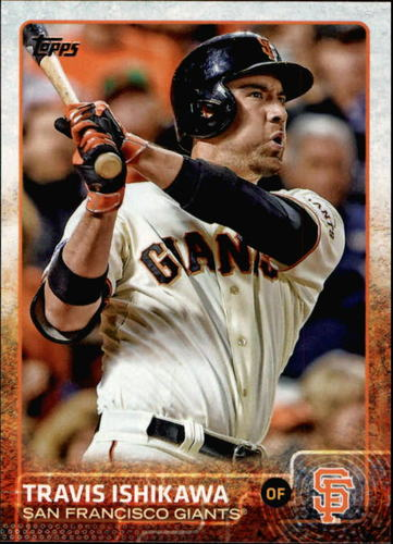 Photo of 2015 Topps #364A Travis Ishikawa