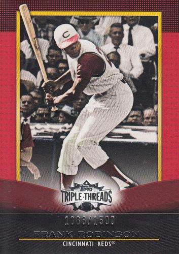 Photo of 2011 Topps Triple Threads #63 Frank Robinson