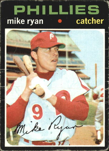Photo of 1971 Topps #533 Mike Ryan
