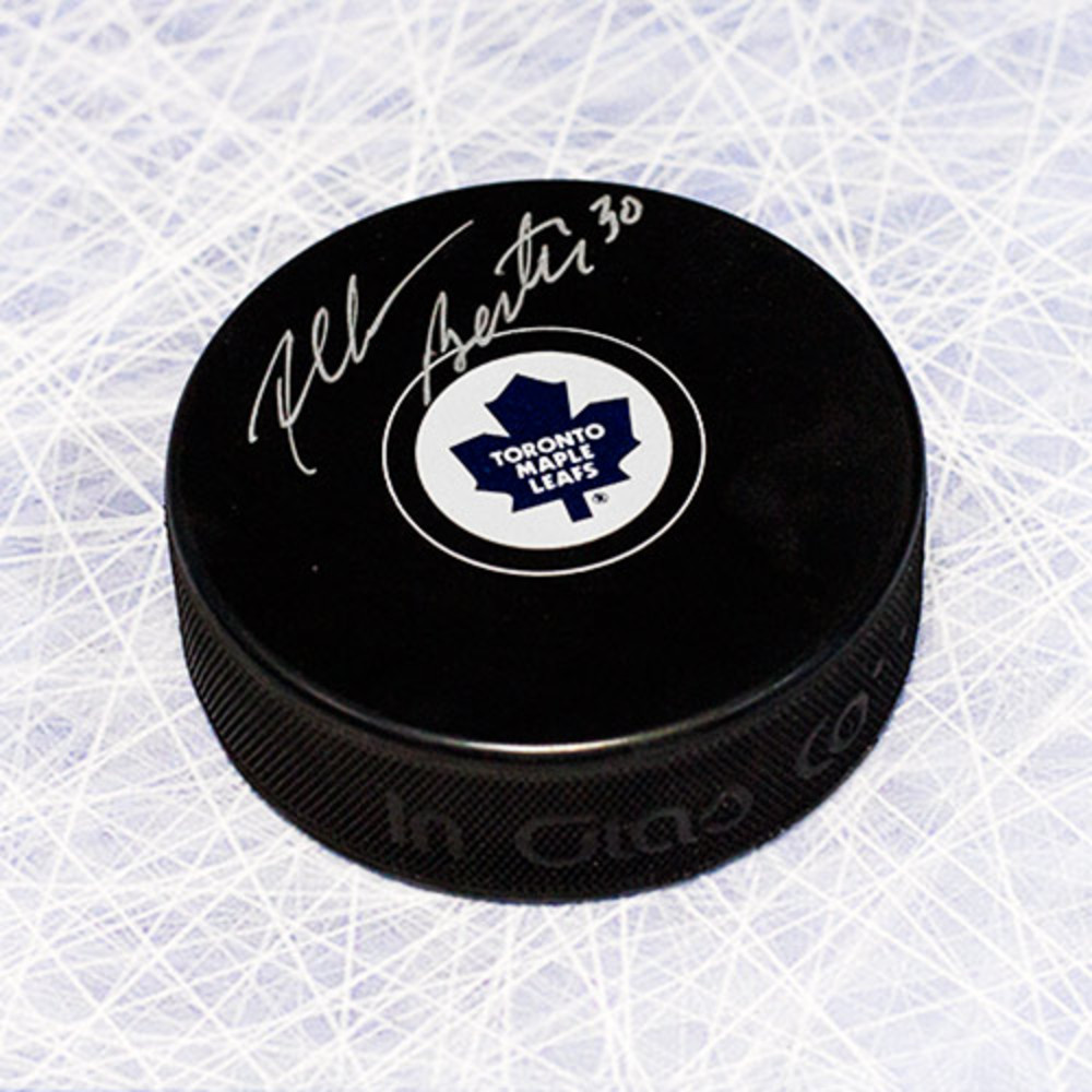 Allan Bester Toronto Maple Leafs Autographed Hockey Puck