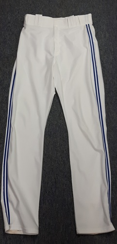 Authenticated Team Issued White Pants - #20 Josh Donaldson (2015 Season). Size 34-45 33 OB.