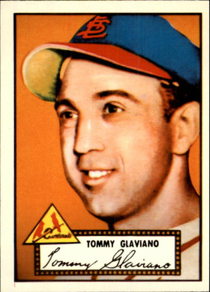 1983 Topps 1952 Reprint #56 Tommy Glaviano