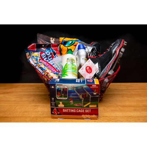 Photo of J.D. Martinez Favorite Things Basket