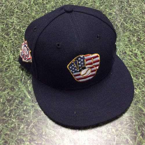 Photo of Matt Albers 2018 Team-Issued Stars & Stripes Cap