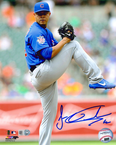 Photo of Jose Quintana Autographed Photo