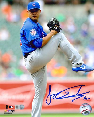 Photo of Jose Quintana Autographed Photo
