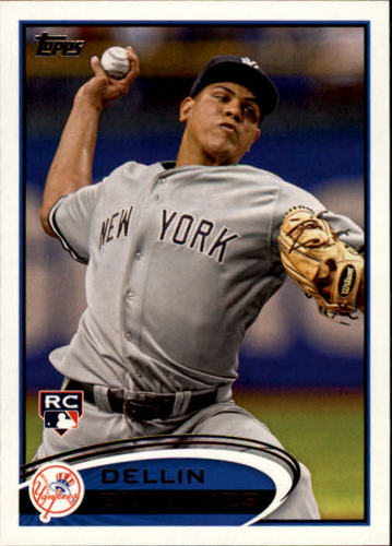 Photo of 2012 Topps #252 Dellin Betances Rookie Card