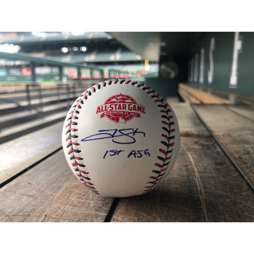 Photo of Colorado Rockies Trevor Story Autographed 2018 All-Star Game Baseball - Inscribed 1st ASG