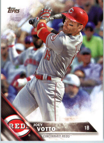 Photo of 2016 Topps #426A Joey Votto