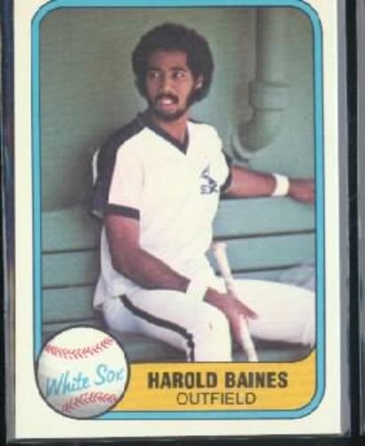 Photo of 1981 Fleer #346 Harold Baines RC