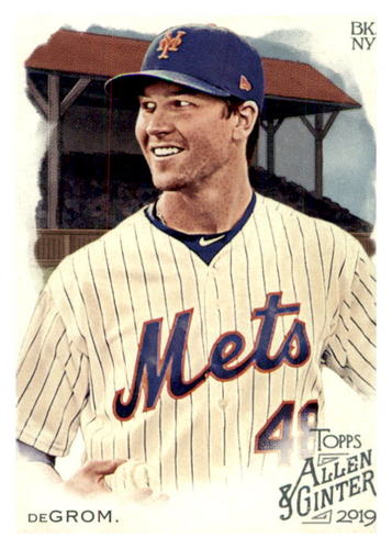 Photo of 2019 Topps Allen and Ginter #42 Jacob deGrom