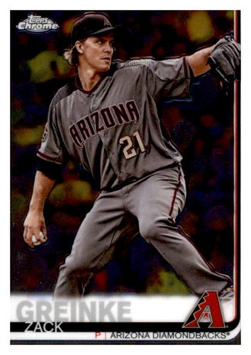 Photo of 2019 Topps Chrome #23 Zack Greinke