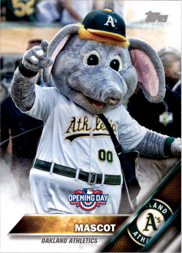 Photo of 2016 Topps Opening Day Mascots #M22 A's Mascot