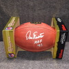 HOF - CHARGERS DAN FOUTS SIGNED AUTHENTIC FOOTBALL