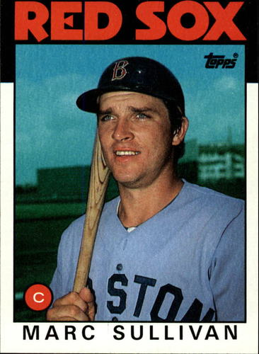 Photo of 1986 Topps #529 Marc Sullivan