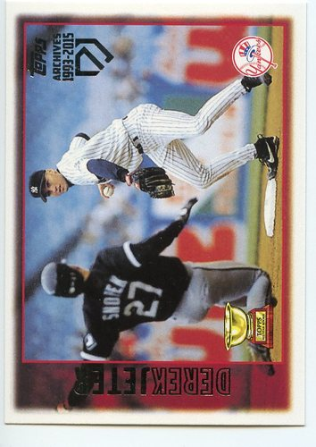 Photo of 2017 Topps Archives Derek Jeter Retrospective #DJ5 Derek Jeter/'97 Topps REPRINT